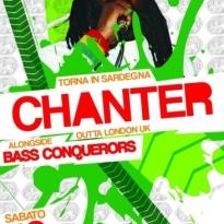 Chanter alongside Bass Conquerors